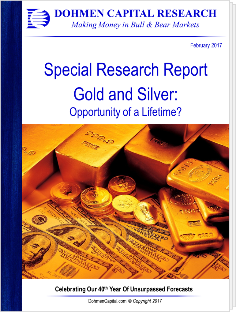 Gold and Silver: Opportunity of a Lifetime?