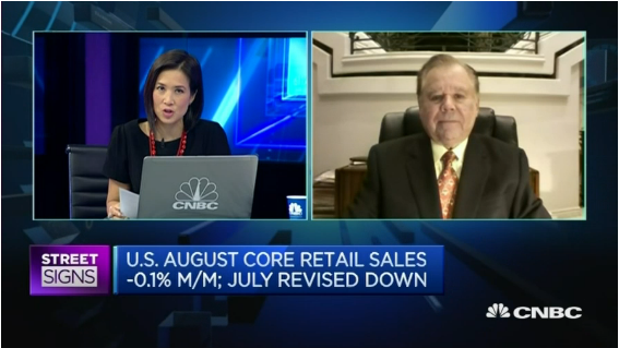 Bert Dohmen on CNBC September 15 2016